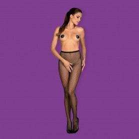 BODYSTOCKING WITH GARTER EFFECT - Prazer 24 ®