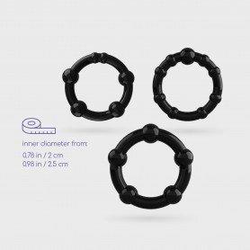 DEMONIQ SHIBARI PACK CORSET EMI BLACK - Prazer 24 ®