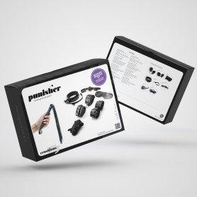 PINÇAS PARA MAMILOS OUCH! TEASING NIPPLE CLAMPS ROXAS - Prazer 24 ®