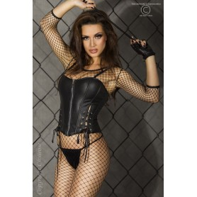 CORSET AND THONG CR-3096 - Prazer 24 ®