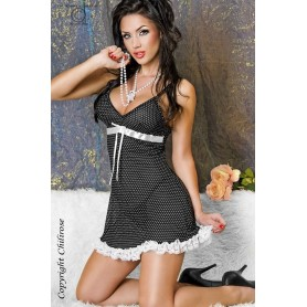 CORSET AND THONG CR-3059 - Prazer 24 ®