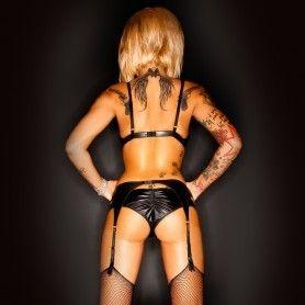 DEMONIQ DRESS ANETTE BLACK - Prazer 24 ®