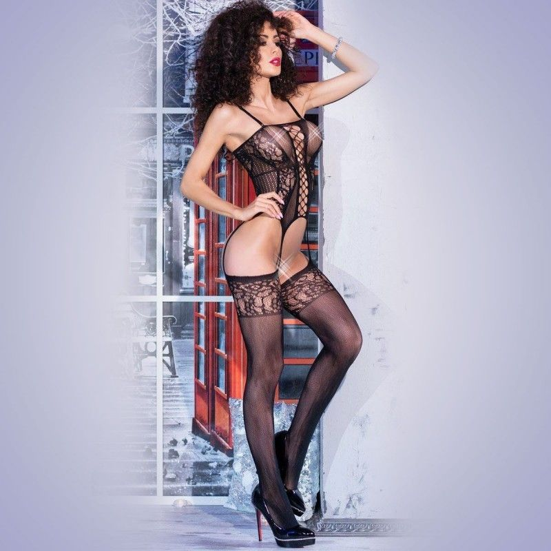 DEMONIQ BODY HANNAH BLACK - Prazer 24 ®