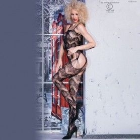 LINGERIE FEMININA - BODY NADINE DEMONIQ PRETO