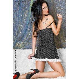 LINGERIE FEMININA - CORSET AND THONG CR-3076