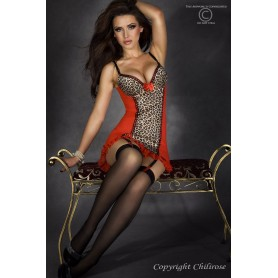 CORSET AND THONG CR-3343 - Prazer 24 ®